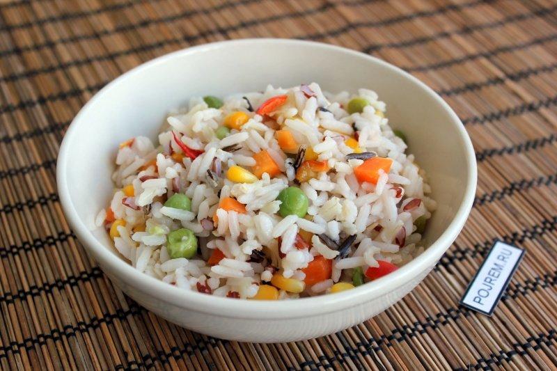 Рис с курицей и овощами рецепт с пошагово в