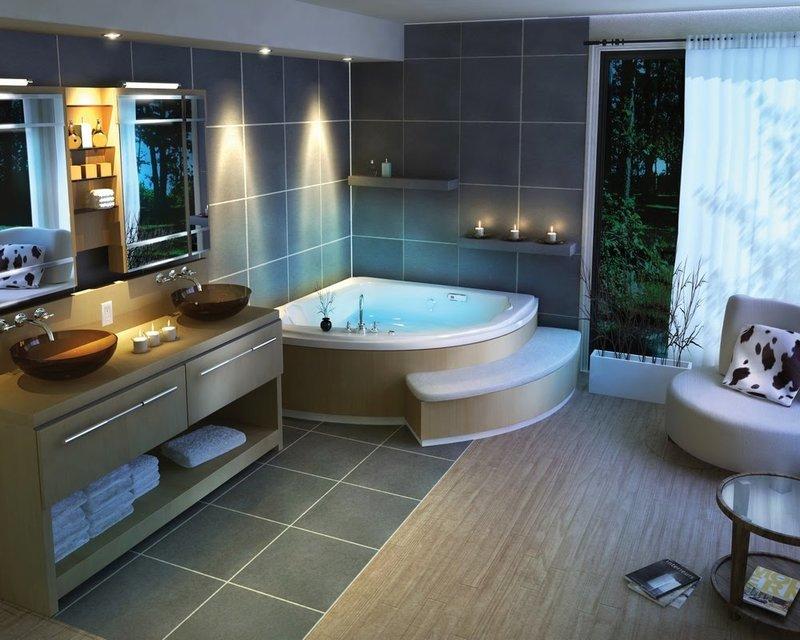 Дизайн ванной комнаты цены