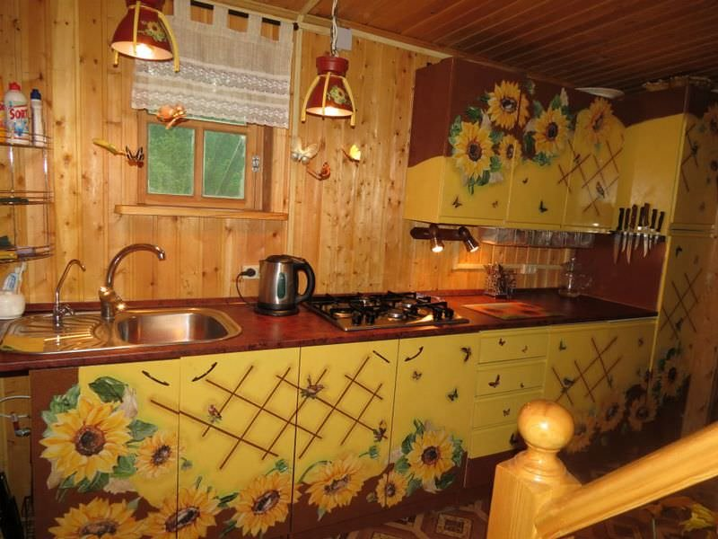 Декупаж кухонный гарнитур своими руками фото 67
