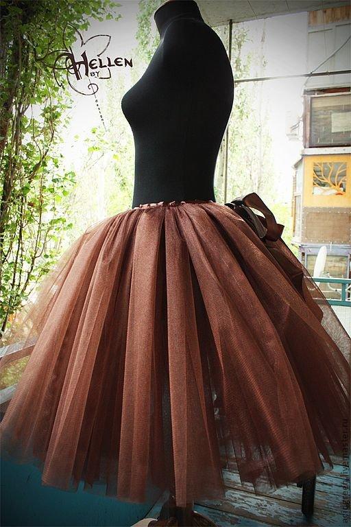 Сшить длинную юбку из фатина своими руками для девушки