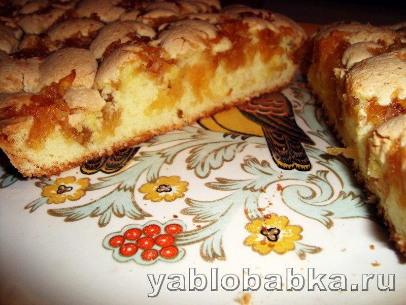 Пироги с яблочным вареньем в духовке рецепт