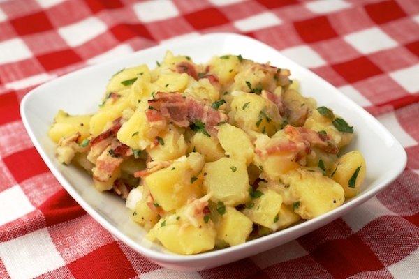 немецкий картофельный салат рецепт фото