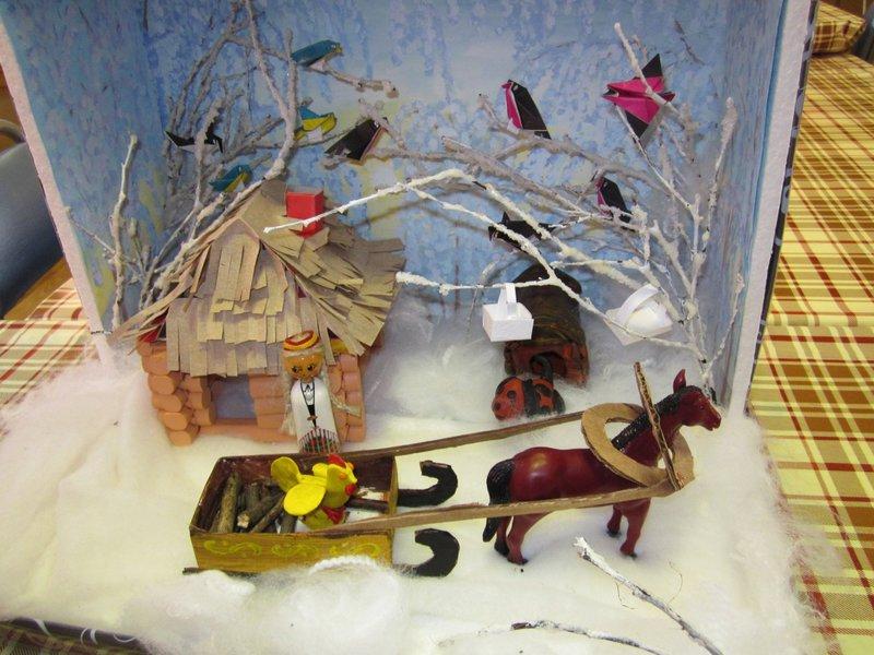 Поделки на тему зимние сказки136