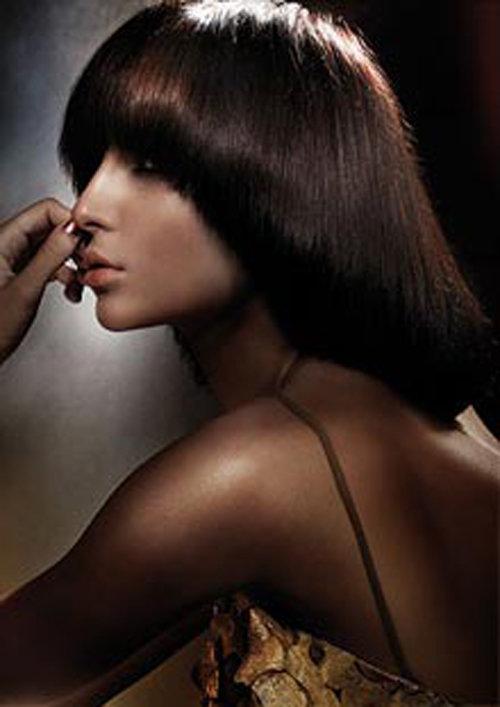 Стрижка паж длинные волосы