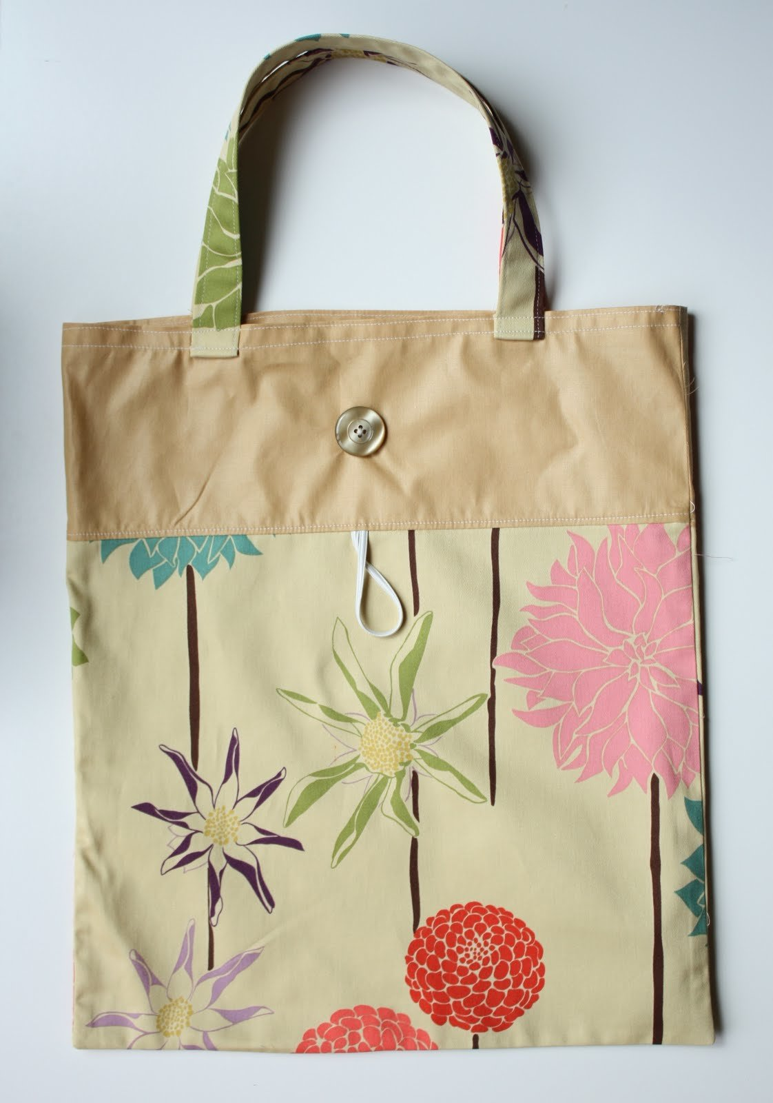 Как сшить женскую сумку из ткани своими руками