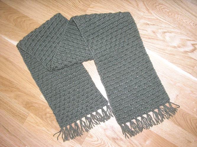 Вязание крючкоммужские шарфы 85