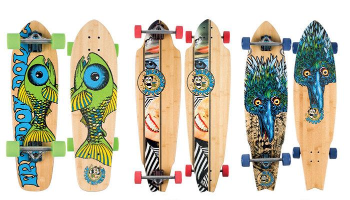 Рисунки на скейтбордах своими руками 61