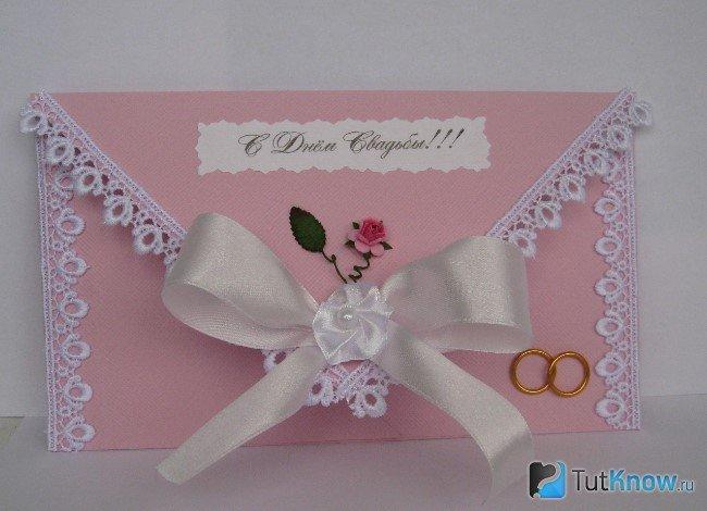 Открытки на свадьбу поздравительные своими руками