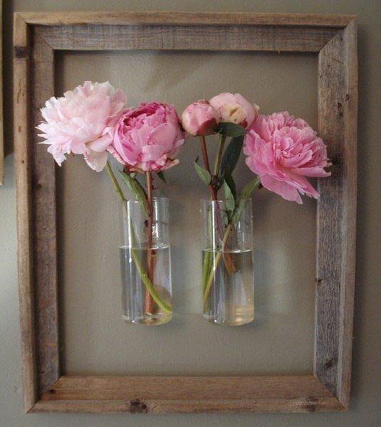 Картины с вазами своими руками
