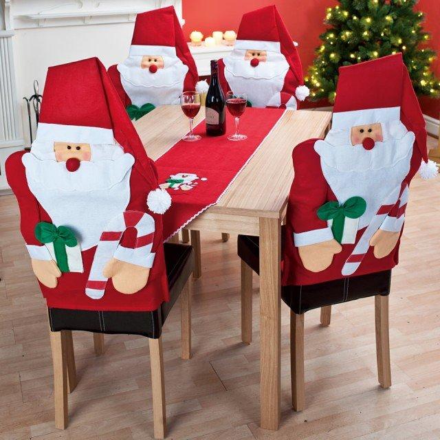 Шапочки для стульев своими руками 42