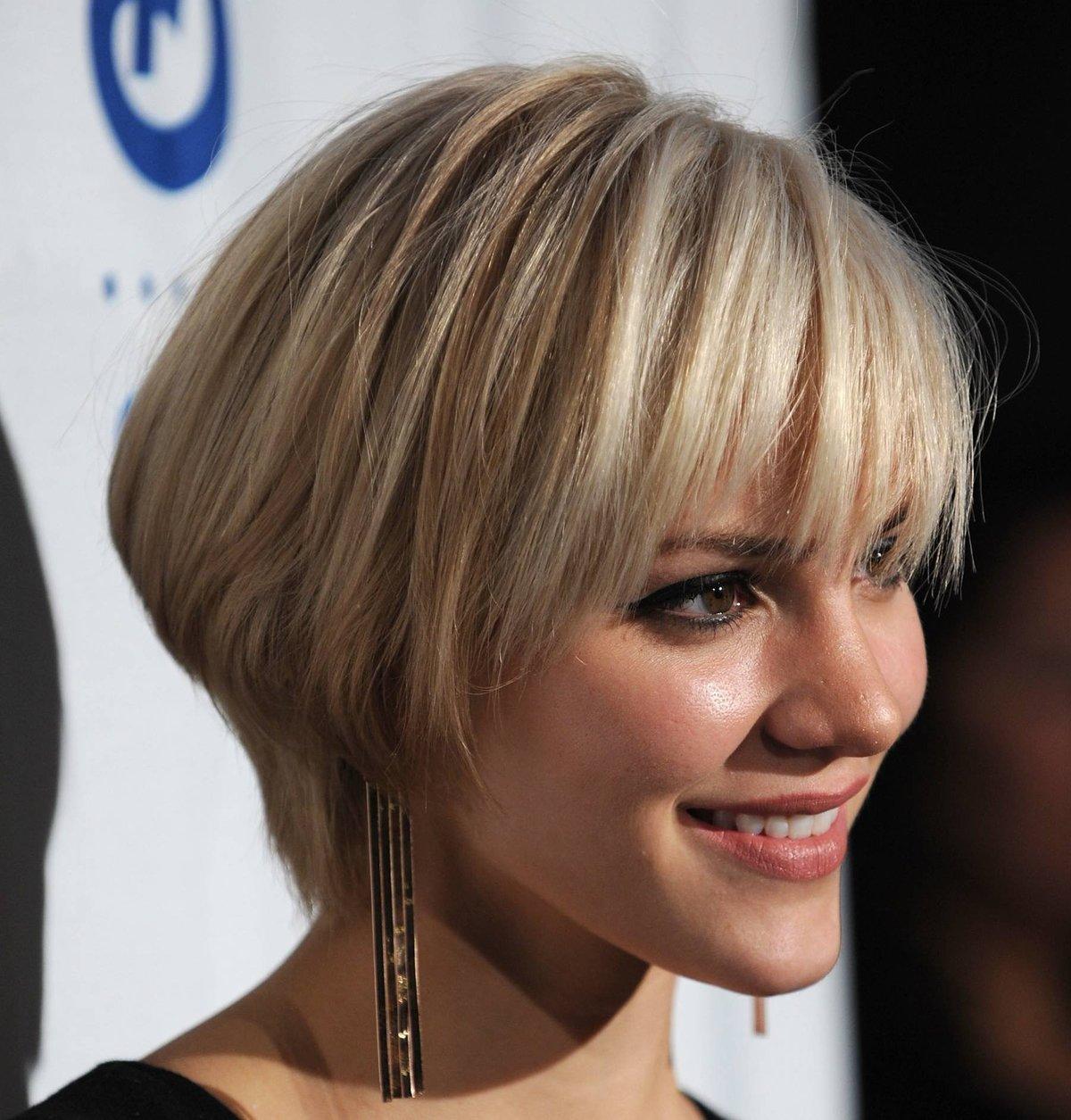 Стрижки на средние волосы для жидких волос