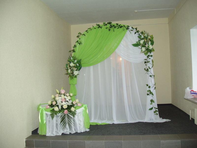 Украшения арки на свадьбу своими руками