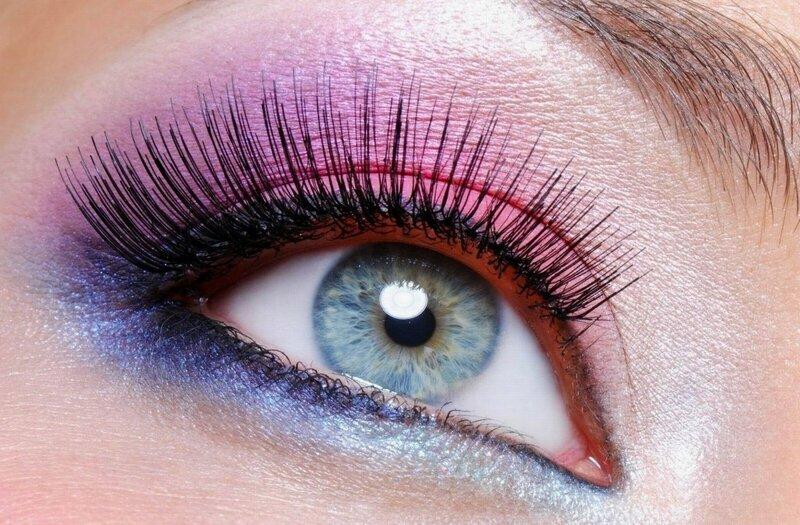 Макияж на серо-зеленые глаза