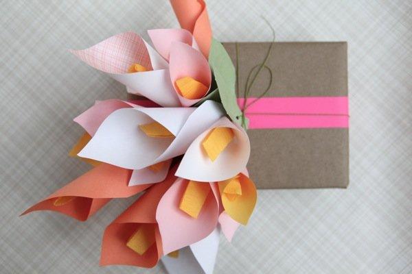Поделка из бумаги для подарка 61