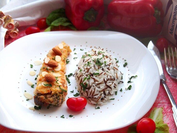 Камбала с рисом рецепты