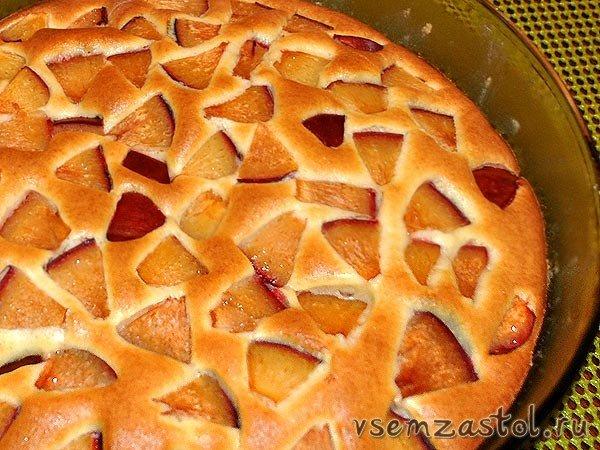 Фруктовый пирог рецепт с