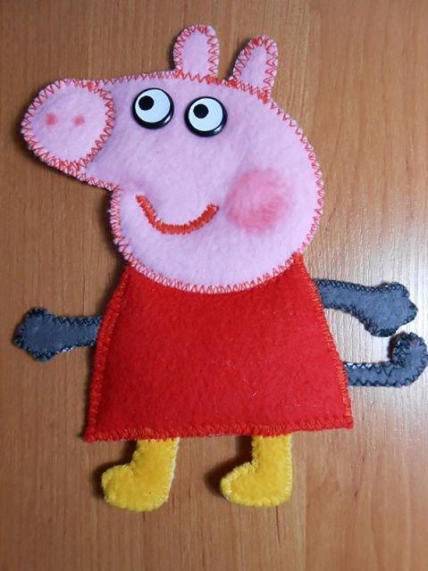 Поделка свинка пеппа своими руками 3