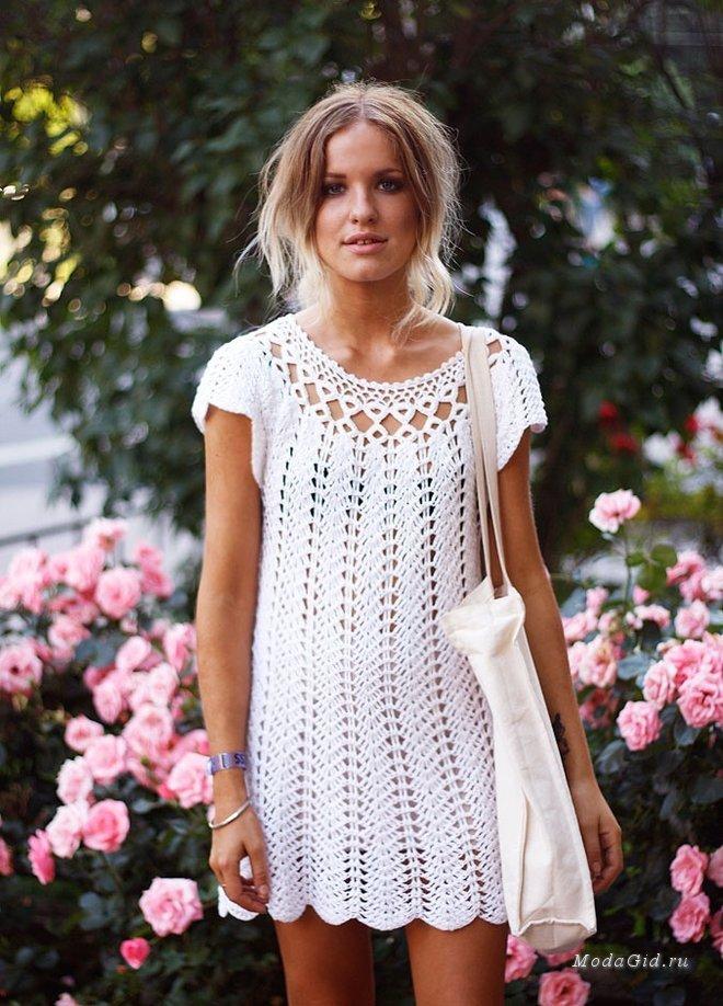 Вязание крючком фото модное 43
