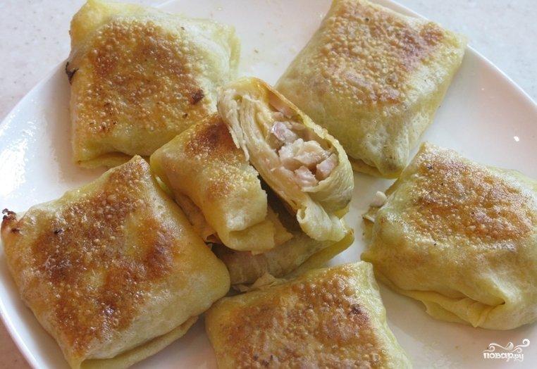 Блинчики с сыром рецепт пошагово на воде