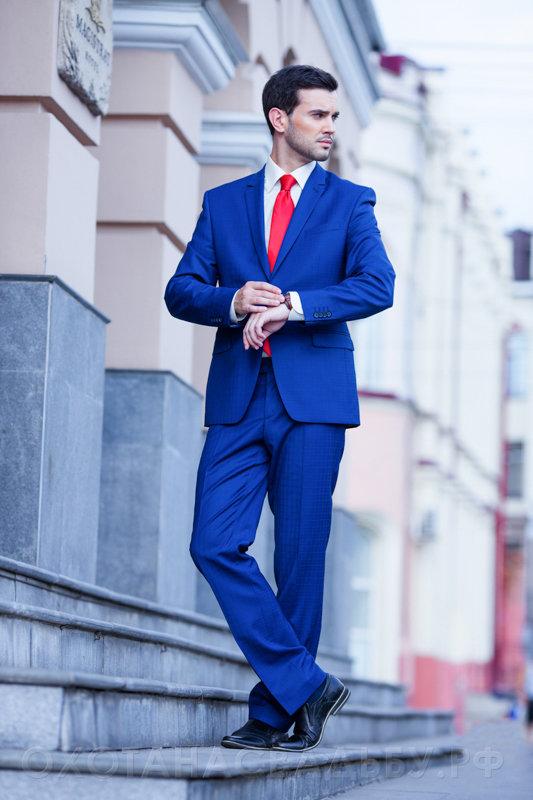Фото костюмов мужских на свадьбу синий