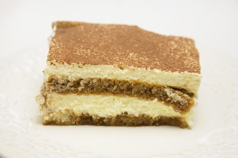 Торт тирамису с домашним печеньем