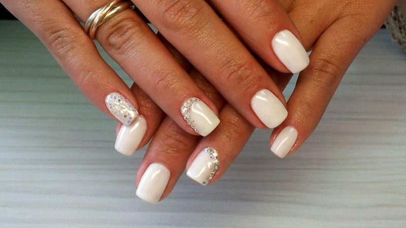 Фото дизайн ногтей белых короткие