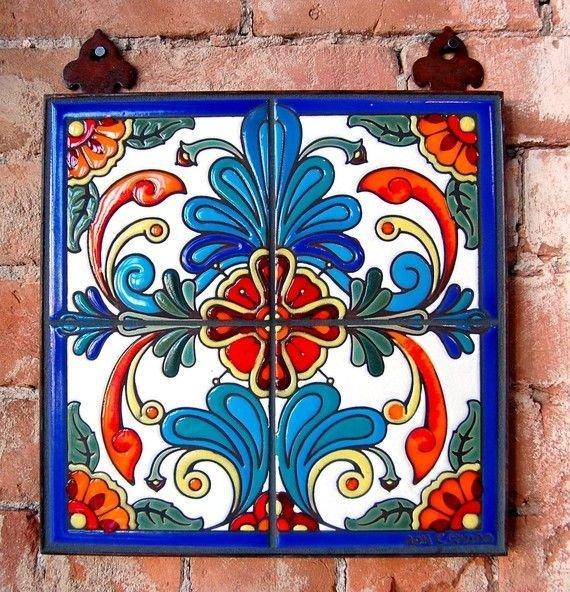 Роспись по керамической плитке своими руками мастер класс 69