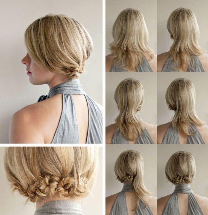 Как сделать прическу на волосы длиной до плеч 375
