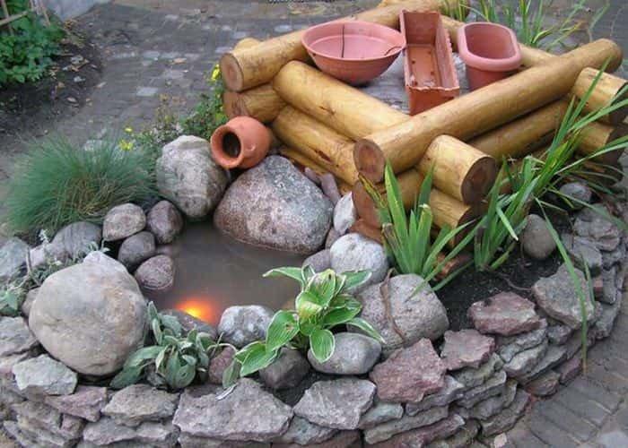 Как построить сад камней своими руками