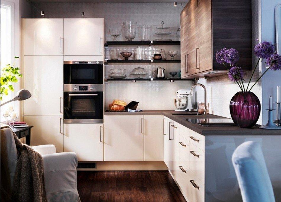 Интерьер современной маленькой кухни фото