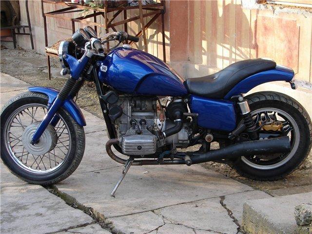 Тюнинг мотоцикла днепр своими руками 5