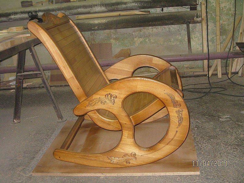 Как сделать кресло-качалка своими рукам 128