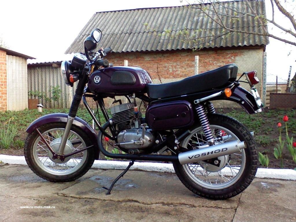 Тюнинг мотоцикла восход