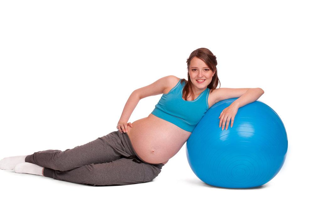 Польза фитбола для беременных 10