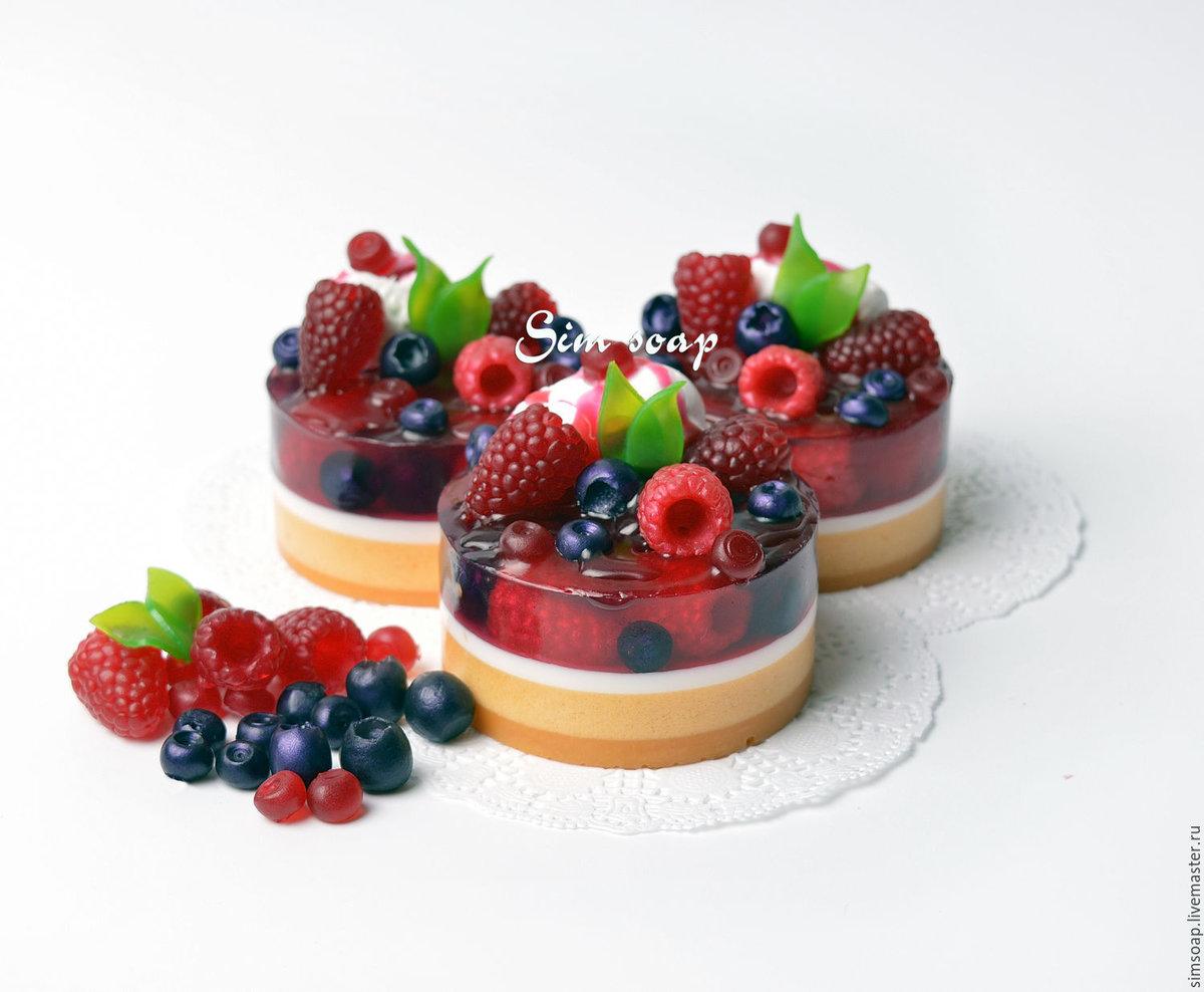 Как сделать крем из мыла на пирожное