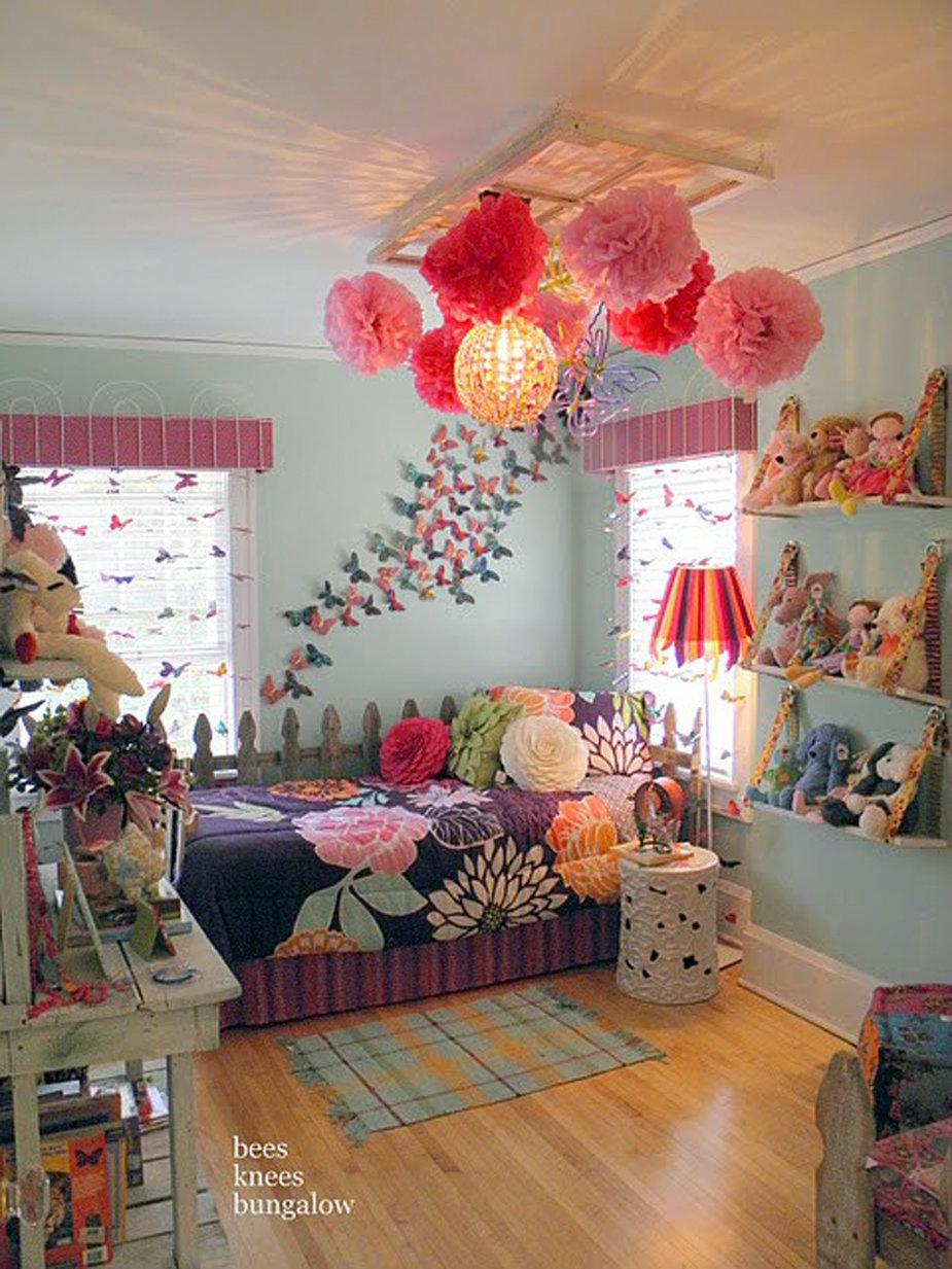 Декор комнаты девочки своими руками 92