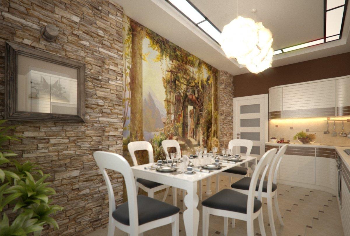 Отделка рабочей стены на кухне идеи дизайн фото