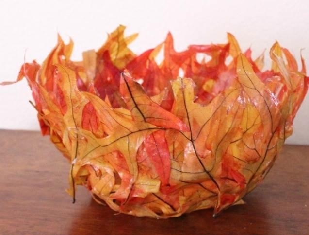 Поделки ваза из природного материала