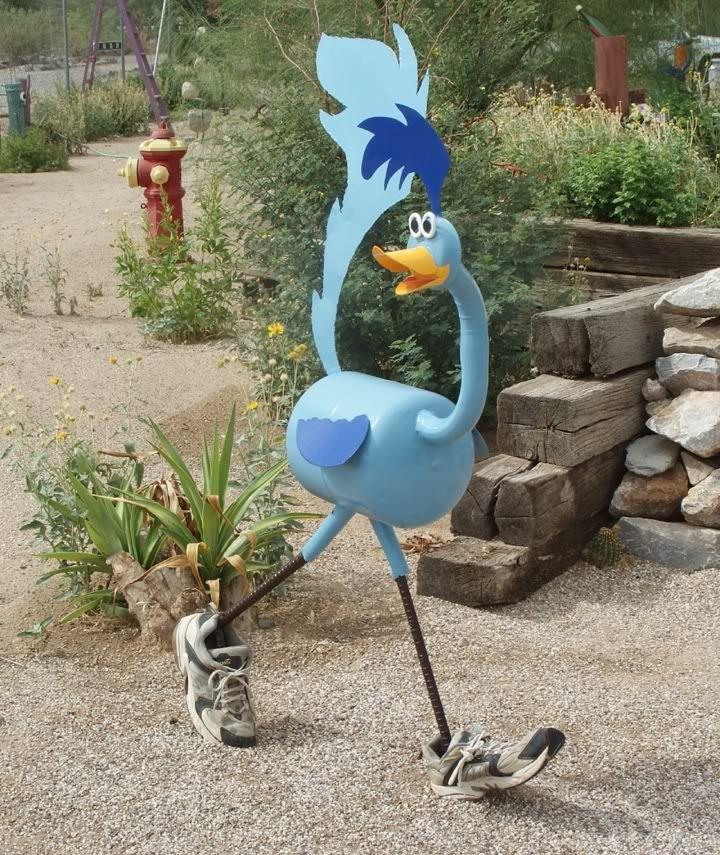 Как сделать садовые украшения своими руками 95
