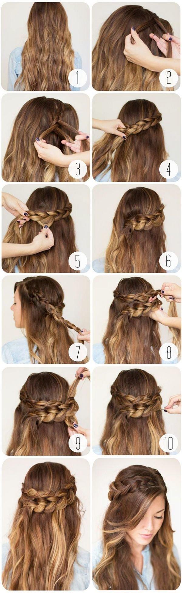 Видео уроки причесок для разных типов волос - онлайн 87