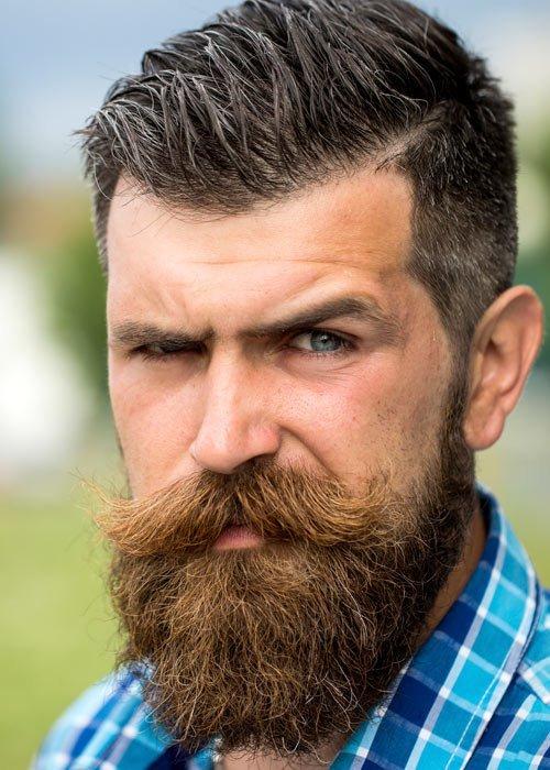Прически усов и бород для мужчин