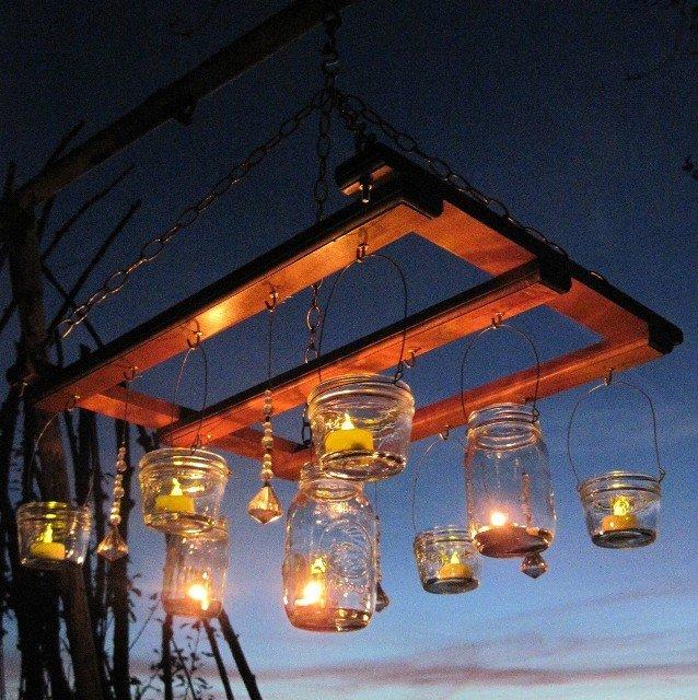 Светильники в сад своими руками 10