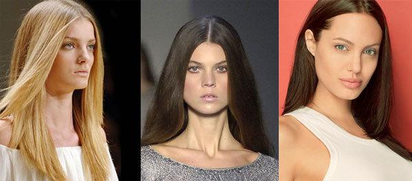 Прически для квадратного лица на длинные волосы