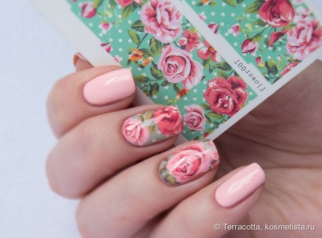 Фото красивые ногти с наклейками