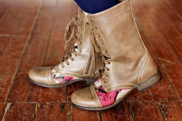 Реставрация ботинок своими руками 65