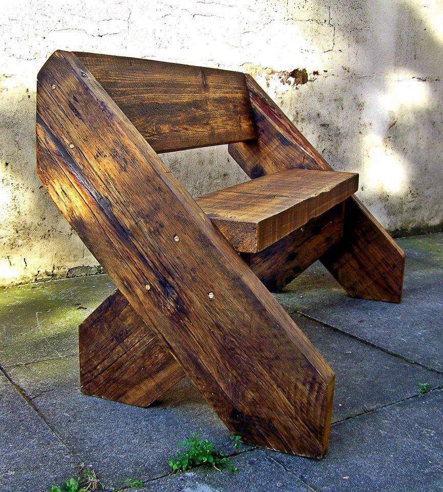 Как сделать скамейку со спинкой своими руками фото