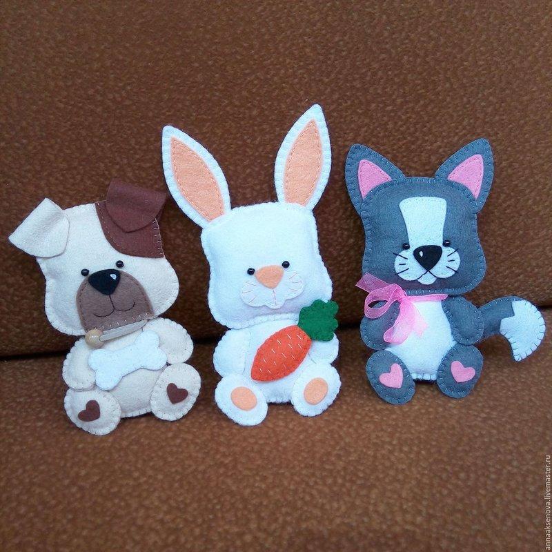 Игрушки из фетра своими руками для интерьера - карточка от пользователя Lana Asyutina в Яндекс.Коллекциях