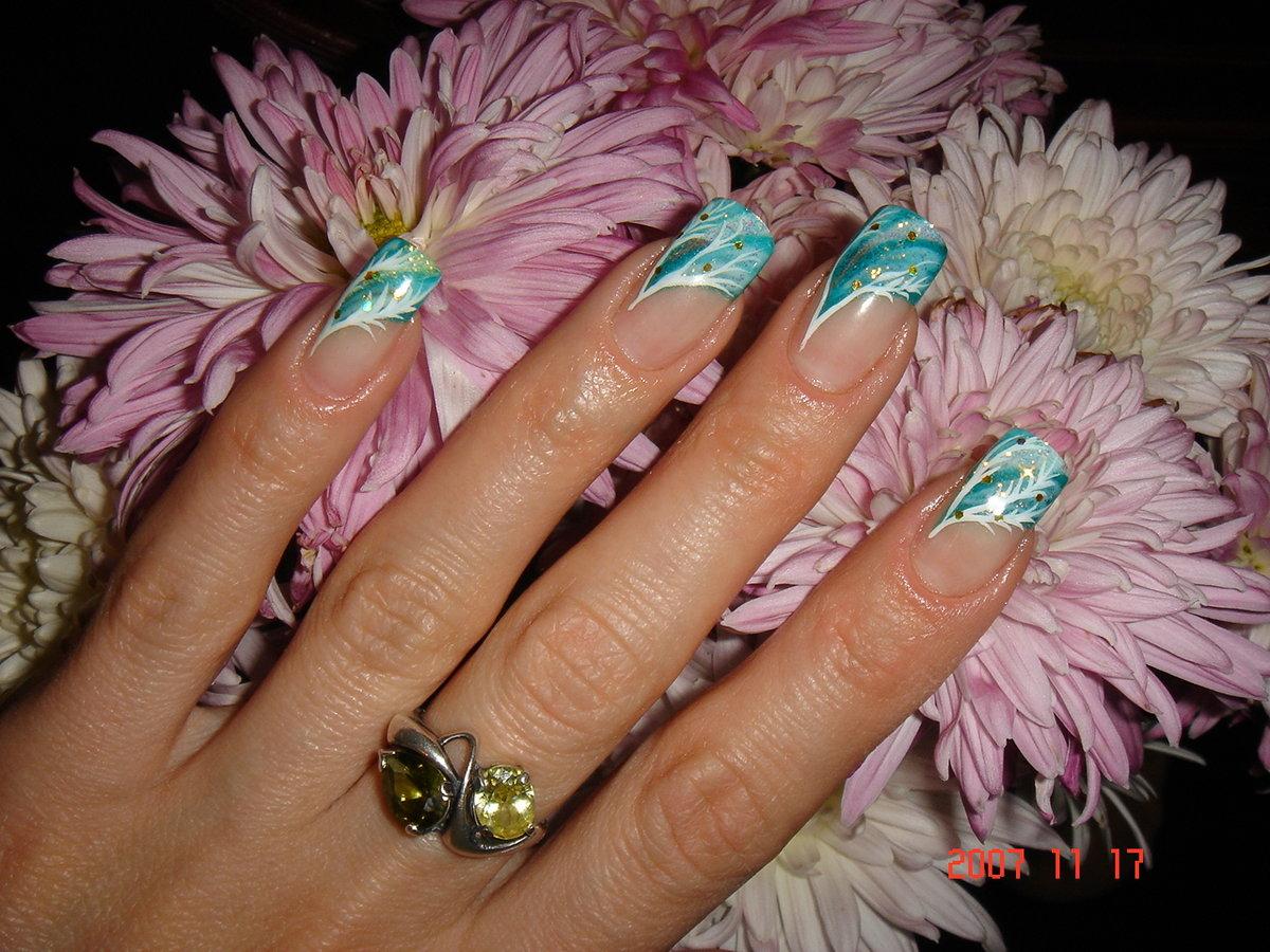 фото цвета ногтя марсала