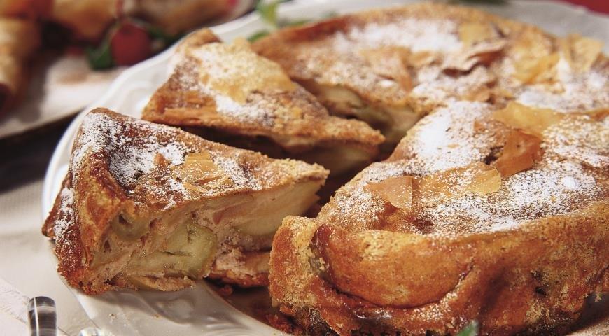 Быстрый рецепт шарлотки с яблоками в духовке пошаговый рецепт с