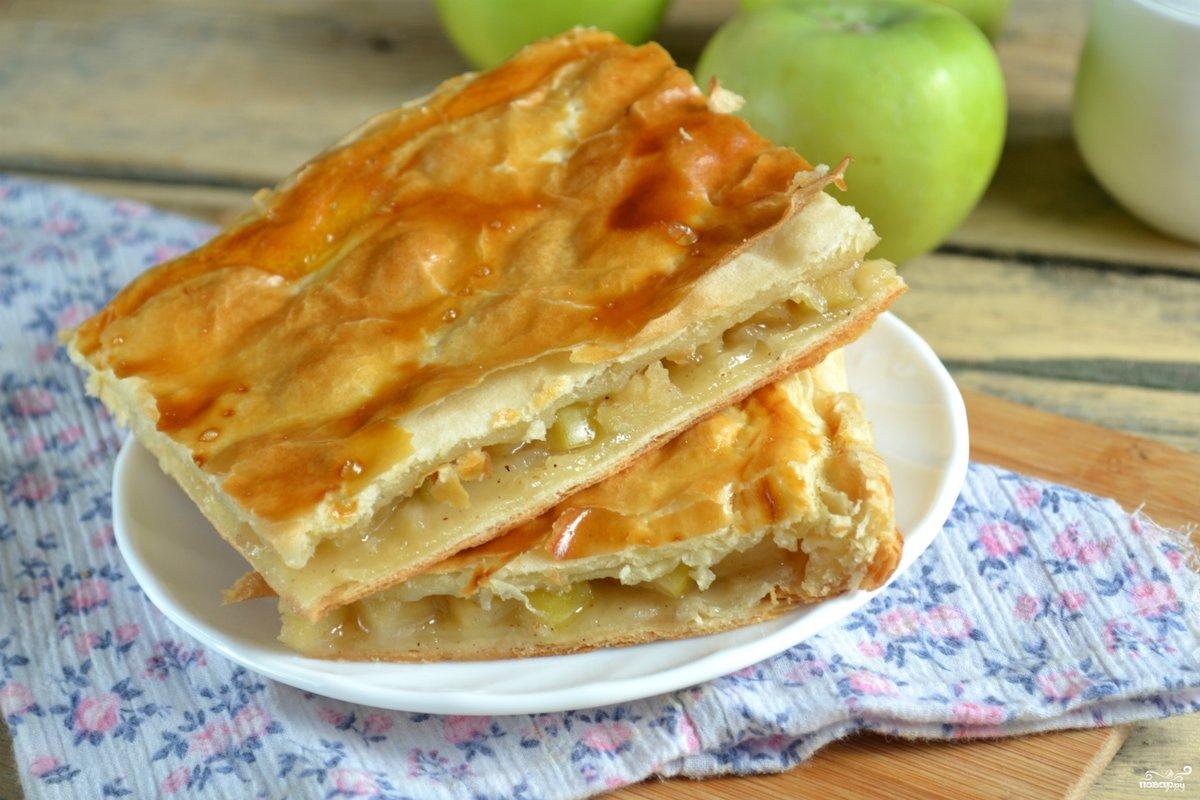 Легкий яблочный пирог рецепт